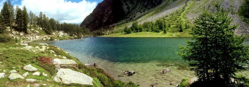 Le lac d'Arpy