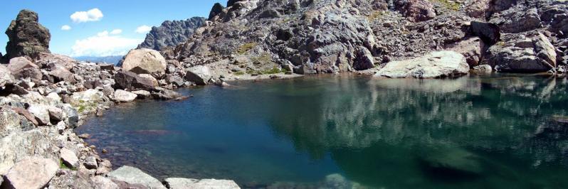 Un petit détour par le lac d'Argentu