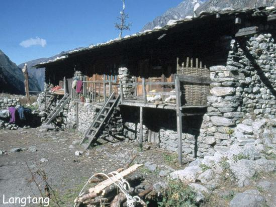 Langtang  village (image d'archives...)