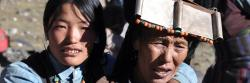 A Mukot dans le haut-Dolpo, on vit en habit traditionnel