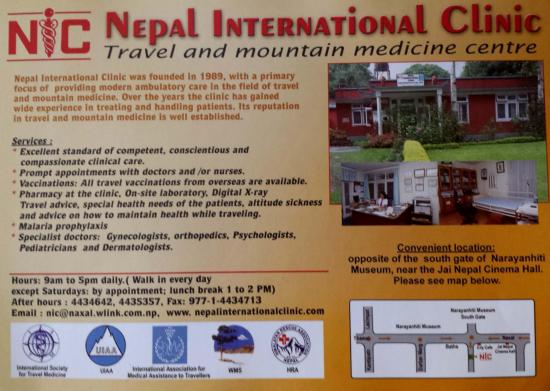 Nepal international clinic ktm