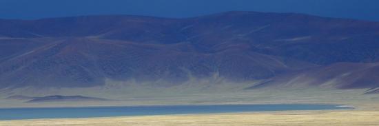 Avis d'orage sur la cuvette des lacs Kyun tso (Changthang - Ladakh - J&K)