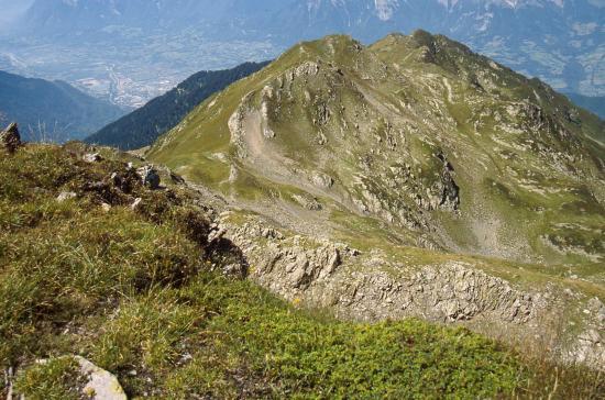 Le Mont Mirantin vu du Pas de l'Âne