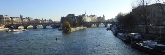 Le Pont-Neuf vu de la passerelle des Arts