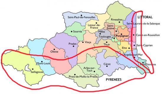 Pyrénées orientales randos v1