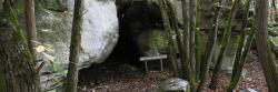 Rocher Cassepot (grotte des troglodytes)