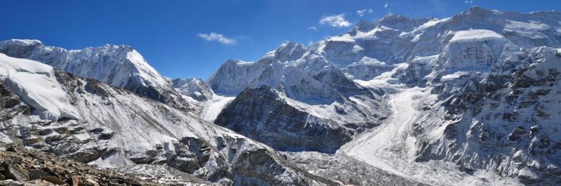 Depuis le sommet du Pang Pema (photo Dominique Brun)