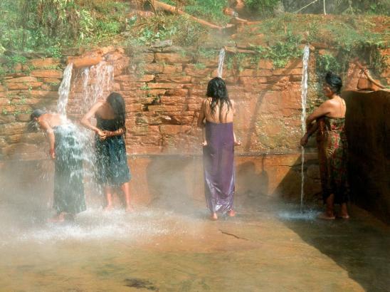 La piscine de Tatopani (image d'archives d'avant 2015)