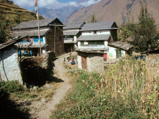Le village de Tibling