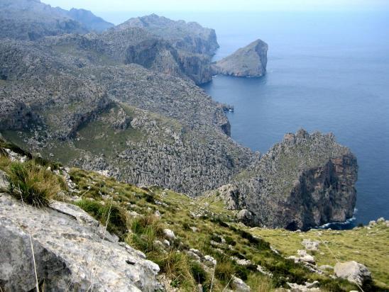 Sur le tour du Puig Roig
