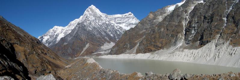 Le lac du Tso Rolpa et le Kang Nachugo