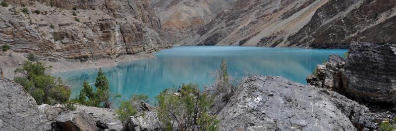 Le lac de Tsho Tok au Zangskar (Ladakh - J&K - Inde)